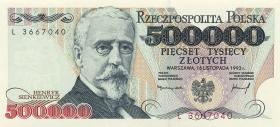 Polen / Poland P.161 500.000 Zlotych 1993 (1)