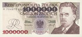 Polen / Poland P.162 1.000.000 Zlotych 1993 (1)