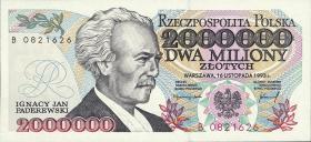 Polen / Poland P.163a 2.000.000 Zlotych 1993 (1)