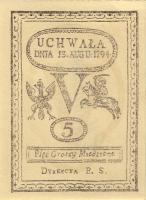 Polen / Poland P.A08 5 Groszy 1794 (Faksimile 1967) (1)