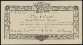 Polen / Poland P.A14 5 Talarow 1810 (Faksimile 1968) (1/1-)
