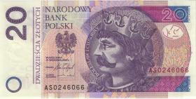 Polen / Poland P.neu 20 Zlotych 2016 (1)