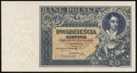 Polen / Poland P.073 20 Zlotych 1931 (1)