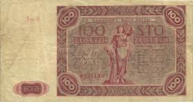 Polen / Poland P.131 100 Zlotych 1947 (3)