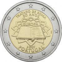 Portugal 2 Euro 2007 Römische Verträge