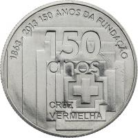 Portugal 2,5 Euro 2013 150 Jahre Rotes Kreuz (CuNi)