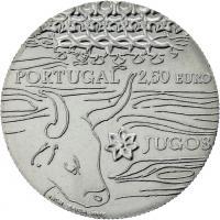 Portugal 2,5 Euro 2014 Stier (CuNi)