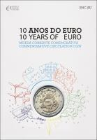Portugal 2 Euro 2012 Euro-Bargeld Folder