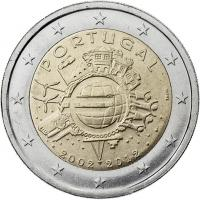 Portugal 2 Euro 2012 Euro-Bargeld