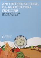 Portugal 2 Euro 2014 Familienbetriebene Landwirtschaft im Folder stg
