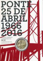 Portugal 2 Euro 2016 Brücke des 25. April im Folder stg