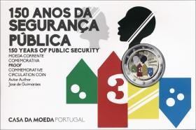 Portugal 2 Euro 2017 150 Jahre Polizei - Öffentliche Sicherheit im Folder PP