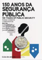 Portugal 2 Euro 2017 150 Jahre Polizei - Öffentliche Sicherheit im Folder stg