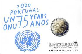 Portugal 2 Euro 2020 75 Jahre Frieden im Folder PP