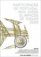 Portugal 2 Euro 2021 Olympische Spiele Tokio im Folder stg