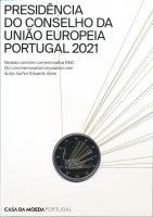 Portugal 2 Euro 2021 EU-Ratspräsidentschaft im Folder stg