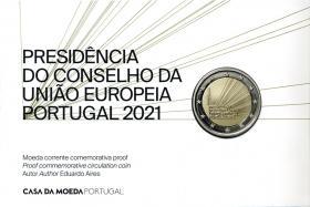 Portugal 2 Euro 2021 EU-Ratspräsidentschaft im Folder PP