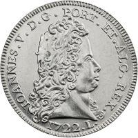 Portugal 5 Euro 2012 König Johann V. (Kupfer-Nickel)