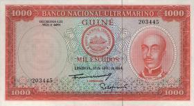 Portug. Guinea P.43 1000 Escudos 1964 (1)