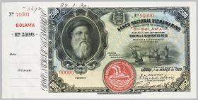 Portug. Guinea P.02A 2,500 Milreis 1909 SPECIMEN (1)