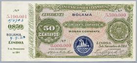 Portug. Guinea P.08 50 Centavos 1914 SPECIMEN (1)