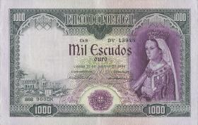 Portugal P.161 1000 Escudos 1956 (2)