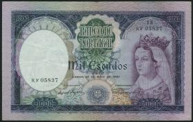 Portugal P.166 1000 Escudos 1961 (3)