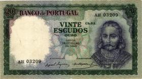 Portugal P.163 20 Escudos 1960 (3)