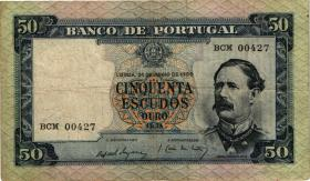 Portugal P.164 50 Escudos 1960 (3-)