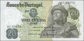 Portugal P.173 20 Escudos 1971 (1-)