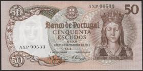 Portugal P.168 50 Escudos 1964 (2)