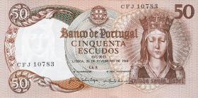 Portugal P.168 50 Escudos 1964 (1)