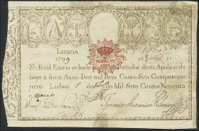 Portugal P.013 10000 Reis 1799 (4)