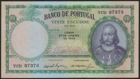 Portugal P.153b 20 Escudos 1959 (1)