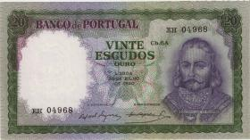 Portugal P.163 20 Escudos 1960 (2)