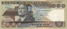 Portugal P.182d 5000 Escudos 1985 (2)
