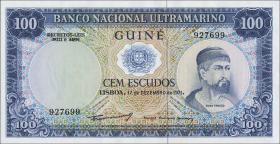 Portug. Guinea P.45 100 Escudos 1971