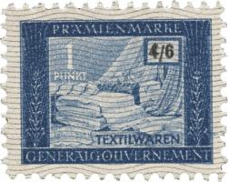Generalgouvernement 1 Punkt Textilwaren (1)