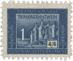 Generalgouvernement 1 Punkt Trinkbranntwein (1)
