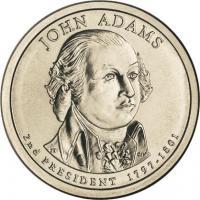 USA 1 Dollar 2007 02. John Adams