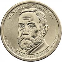USA 1 Dollar 2012 23. Benjamin Harrison