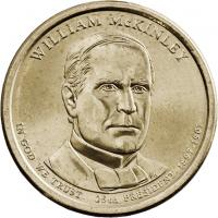USA 1 Dollar 2013 25. Wiliam McKinley