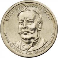 USA 1 Dollar 2013 27. William Howard Taft