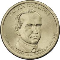 USA 1 Dollar 2014 30. Calvin Coolidge