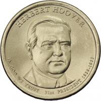USA 1 Dollar 2014 31. Herbert Hoover