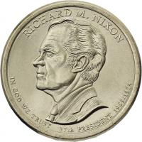 USA 1 Dollar 2016 37. Richard M. Nixon