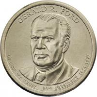 USA 1 Dollar 2016 38. Gerald R. Ford