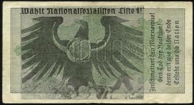 "Propagandanote ""Wählt Nationalsozialisten"" (3)"