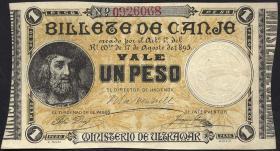 Puerto Rico P.07c 1 Peso 1895 (1)