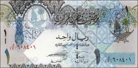 Qatar P.28a 1 Riyal (2008) (1)
